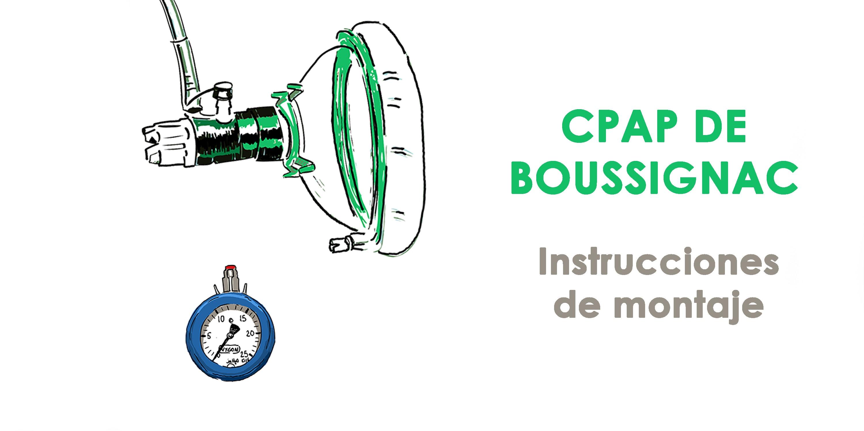 montar una CPAP de Boussignac