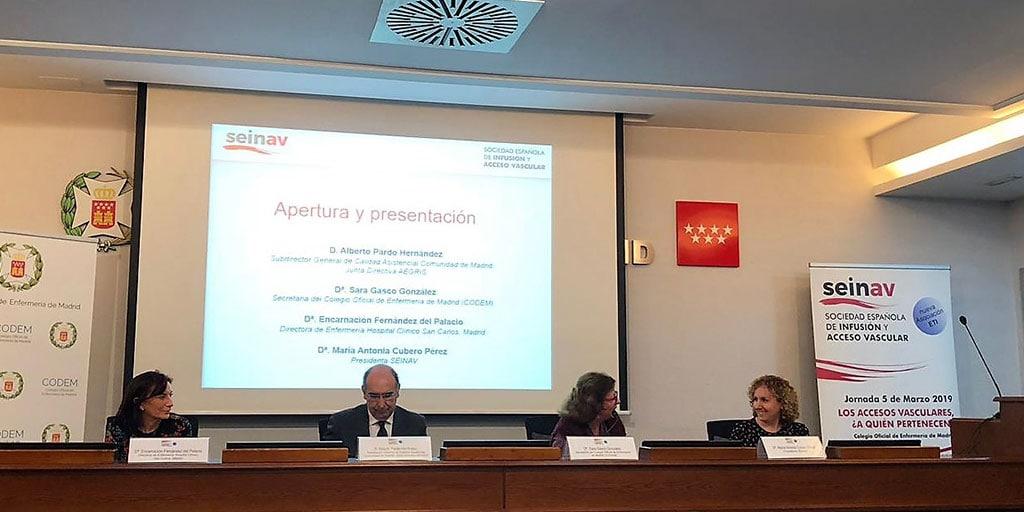 Presentación de SEINAV, la nueva SOCIEDAD ESPAÑOLA DE INFUSIÓN Y ACCESO VASCULAR