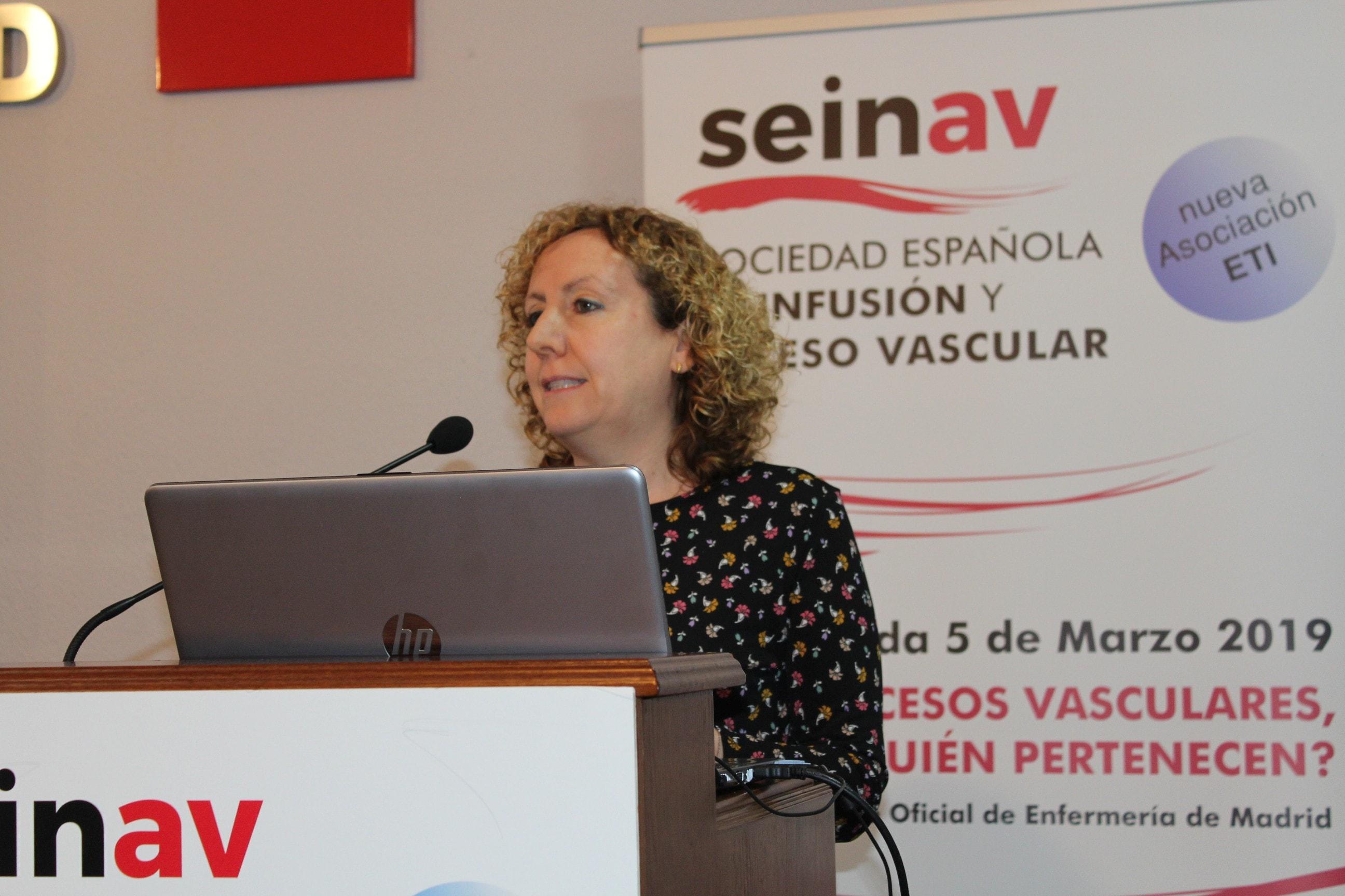 Entrevista a Marian Cubero, presidenta de Sociedad Española de Infusión y Acceso Vascular