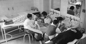 Antuguas salas de terapia intravenosa