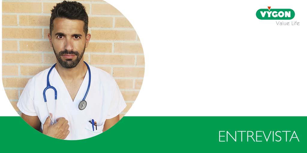 Entrevista a Juan Carlos Miranda, conocido en redes como el enfermero de urgencias