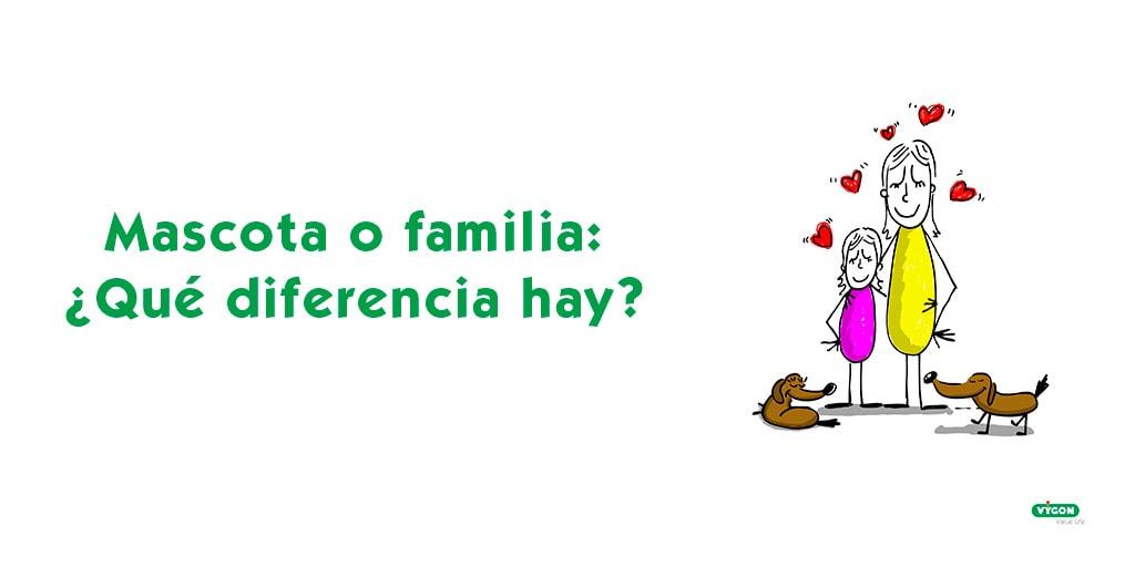 Mascota o familia: ¿Qué diferencia hay?