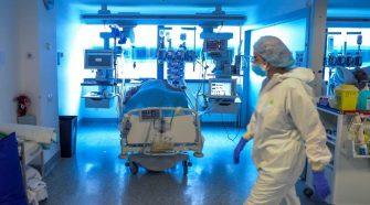 Pacientes de COVID-19 en UCI