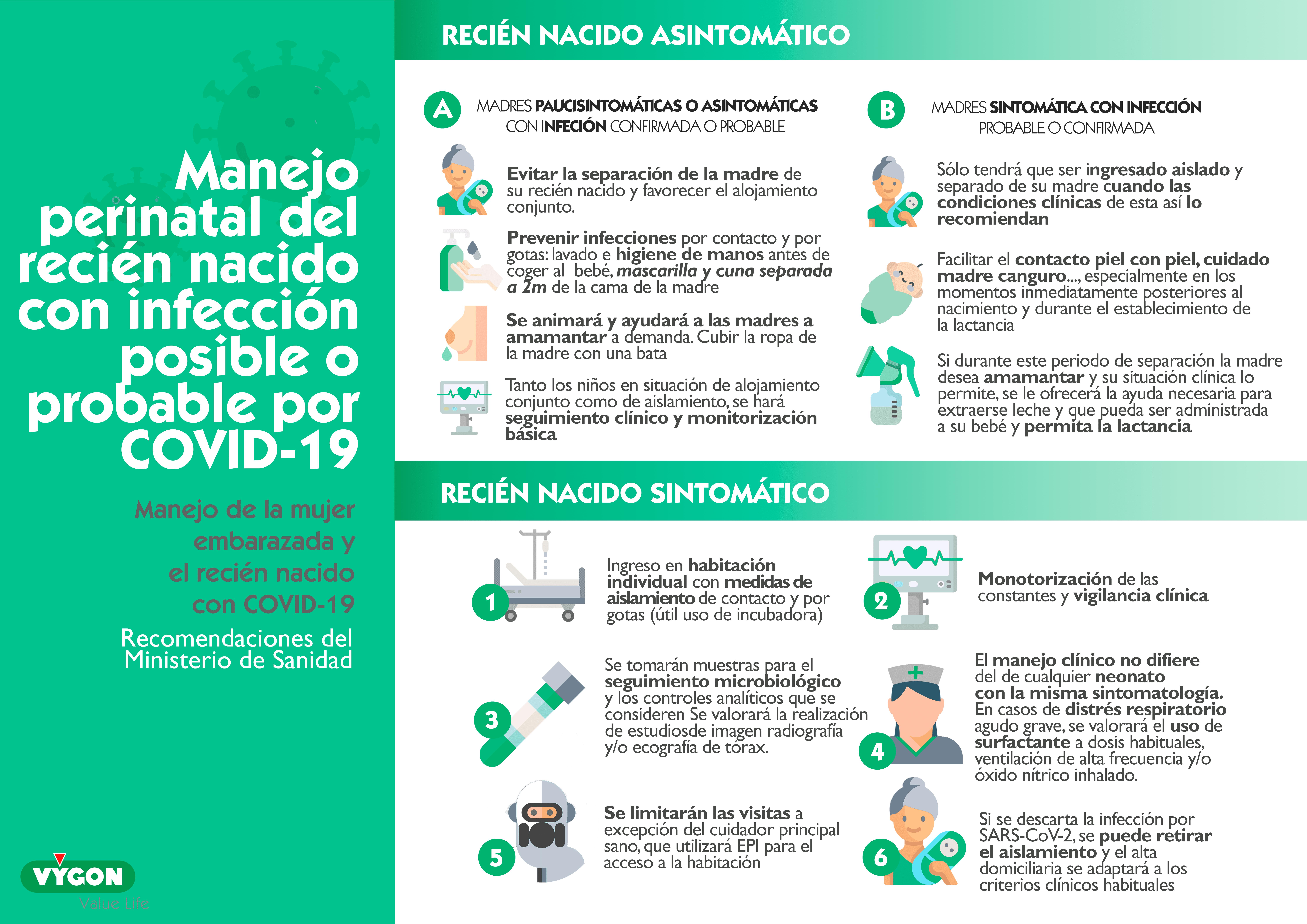 COVID-19: protocolo Recién Nacidos