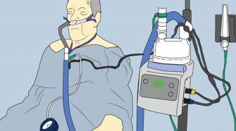 alto flujo combinado con CPAP