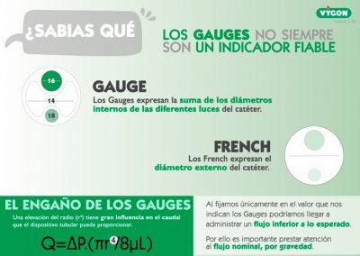 Gauges vs French