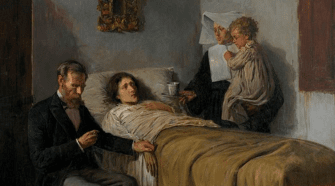 Ciencia y caridad (Picasso, 1895) - Solano Luque