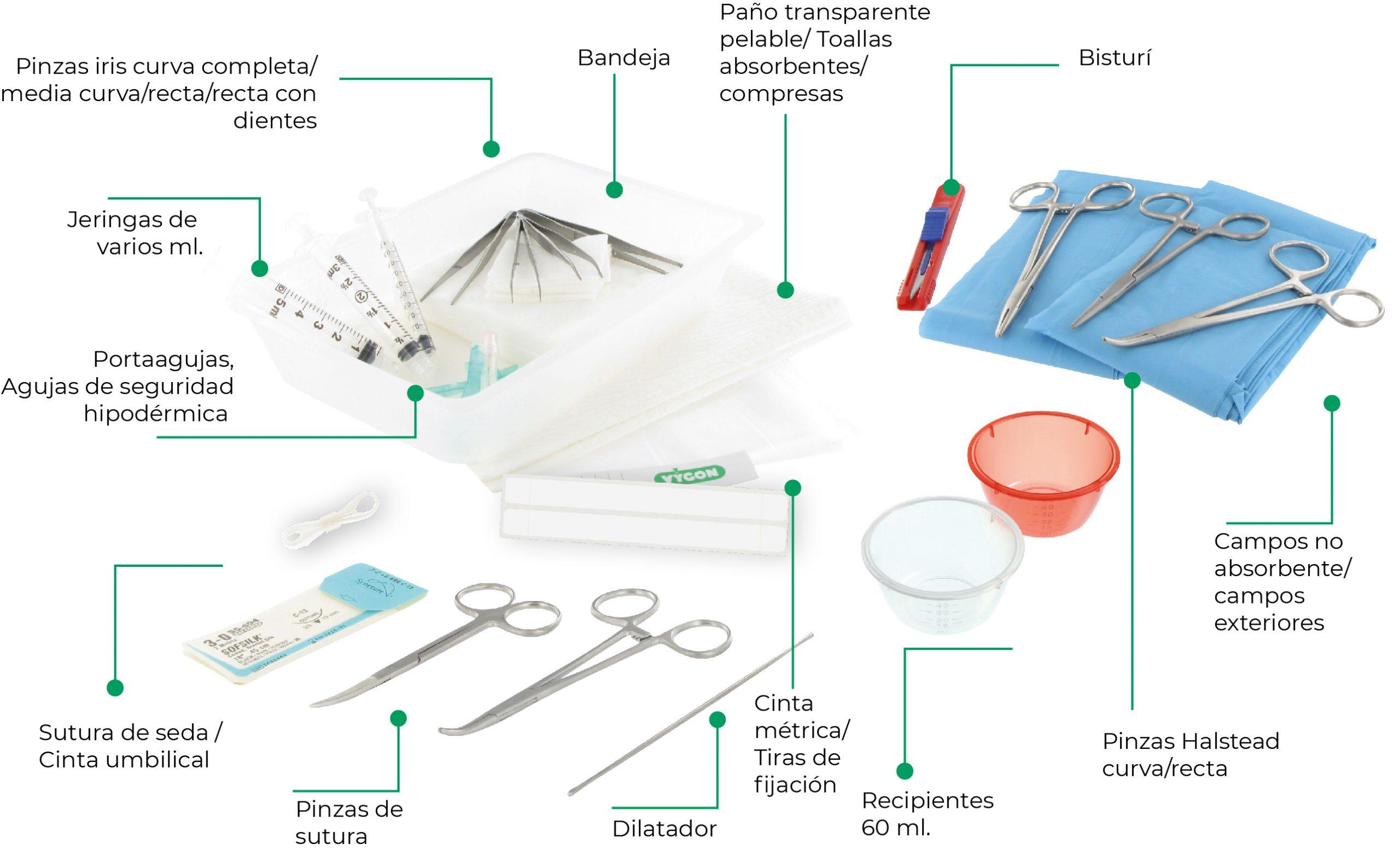 Material catéter umbilical