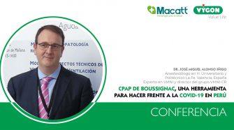 Conferencia: qué hemos aprendido sobre el uso de la VMNI en pacientes Covid. Dr. Alonso