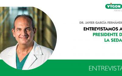 """Javier García Fernández, presidente de la SEDAR: """"los anestesistas debemos ponernos de acuerdo respecto a cómo nos llamamos"""""""
