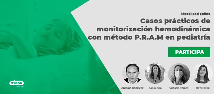 Casos prácticos de monitorización hemodinámica con método P.R.A.M en pediatría