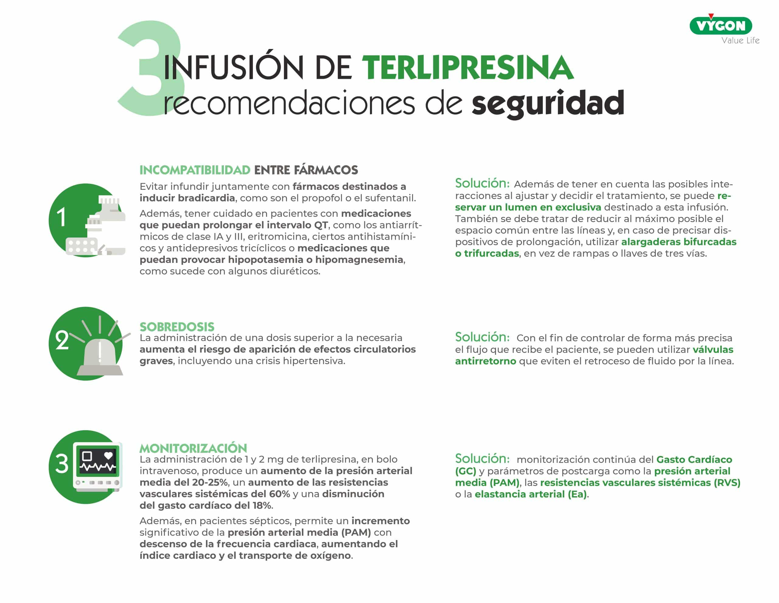 recomendaciones de seguridad en la infusión de terlipresina